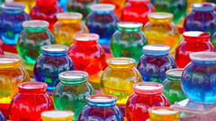 Color Bubbles (dssken) Tags: ifttt 500px dotstarstudios summer fun amusement statefair color pattern repetition skillgame tryyourluck winaprize shiny zoomedin spheres reflective bright bold