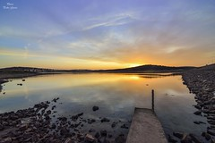 Sunrise  of a new day (Peideluo) Tags: sunrise water landscape landscapewater reflection paisaje reflejos amaneer amanecer nubes cielo sky clouds