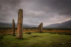 Machrie Moor Standing Stones (Douglas Hamilton ( days well spent )) Tags: arran isle scotland standing stones machrie moor historic atmospheric moody nikon d5200 explored