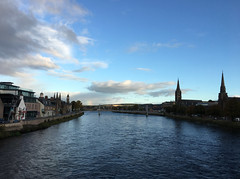 Monday morning (What I saw...) Tags: inverness highlands scotland river ness