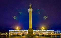 Alexander Column, Saint Petersburg, 20180919 (G · RTM) Tags: alexandercolumn palacesquare saintpetersburg lensflare angels aura