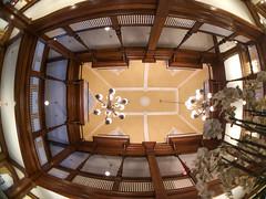 Third Floor Ceiling (Neal3K) Tags: americusga bitplayfisheyelens georgia windsorhotel