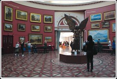 Birmingham Museum and Art Gallery (zweiblumen) Tags: birminghammuseumandartgallery museum artgallery statue paintings birmingham westmidlands england uk canoneos50d polariser zweiblumen