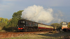 First Runpast (Duck 1966) Tags: cityofwells gcr swithland bulleid pacific 34092 timelineevents train steam locomotive