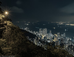 Hongkong (Rickard Brandt) Tags: skyline hongkong house night