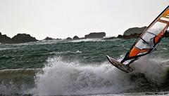 Photos Marco BP (38) (marcbihanpoudec) Tags: plancheàvoile porspoder vent presquiledesaintlaurent vagues