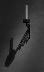 Cloisters, New York (AlainC3) Tags: chandelle chandelier candle ombre shadow cloisters nyc newyork noiretblanc nb blackwhite bw nikond7500 monochrome gris grey