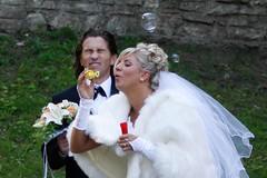 Riga Wedding (DepictingPhotos) Tags: europe humour latvia riga street weddings