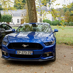 20181007 - Ford Mustang VI Coupe 5.0i 421cv - N(2801) - CARS AND COFFEE CENTRE - Chateau de Chenonceau thumbnail