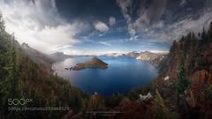 Azul en dimensión. (hoangcuongnokia8800) Tags: 500px mountain range peak hill scenic valley snowcapped idyllic landscape scenics scenery panorama crater lake