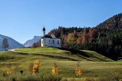 Chapel / Kapelle im Herbst (berndkru) Tags: canoneos6dmarkii ef24105mmf4lisusm achenkirch kapelle chapel österreich austria natur nature landschaft landscape tirol tyrol alps alpen herbst autumn