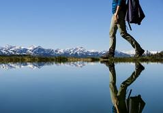 Walk On (CoolMcFlash) Tags: lake water reflection mountain landscape person woman walk hiking austria styria ramsau fujifilm xt2 sky blue see wasser spiegelung gebirge berge landschaft nature natur frau gehen wandern österreich steiermark himmel blau fotografie photography xf18135mmf3556r lm ois wr
