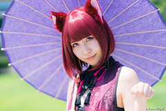 Natsumi Shiraho (iLoveLilyD) Tags: 2018 comiket emount c94 コミケ 屋外 85mm vscofilm07 agfaultra50 sony イベント mirrorless 国際展示場 felens ilovelilyd f14 sel85f14gm primelens gmaster gmlens fullframe gm a7r3 α comiket94 portrait ilce7rm3 α7riii japan tokyo 江東区 東京都 日本 jp