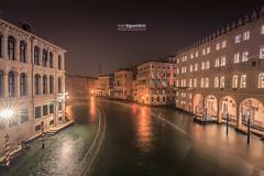 Venezia_1666 (ivan.sgualdini) Tags: italy night seaitaliano boat bridge canal canon city dusk exposure gondola grande italia lights long venezia venice water veneto it