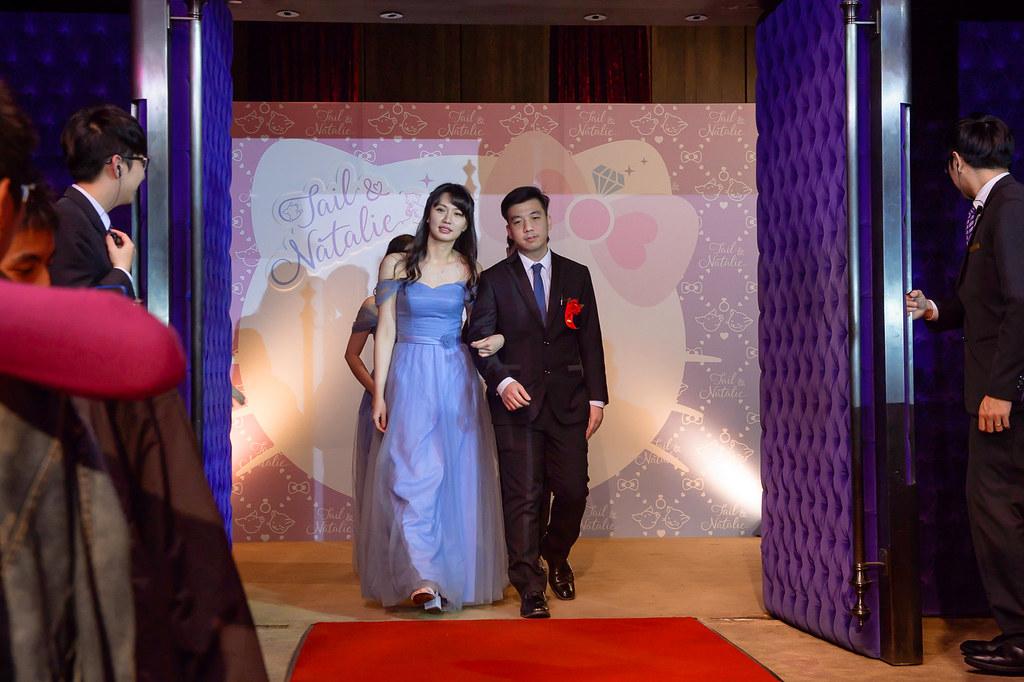 《婚攝小晴》Tail & Natalie / 君品酒店