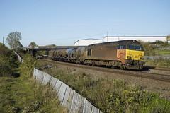 67027 Wellingborough (Gridboy56) Tags: northamptonshire wagons wellingborough europe england railways railroad railfreight trains train uk locomotive locomotives london toton rhtt 67023 67027 3j92 kangaroospinney colasrail westhampstead