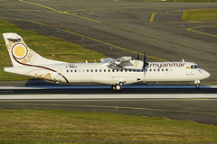 ATR 72-600 - Myanmar National Airlines (David B. - just passed the 7 million views. Thanks) Tags: myanmar myanmarnationalairlines msn1521 1521 fwwez toulouse hautegaronne midipyrénées occitanie france runway aircraft airport airplane air aéroport avion aviation avgeek flight fly flying plane sony a6000 ilce6000 sonya6000 sonyilce6000 100400mm fe100400mm sonyfe100400mmf4556gmoss atr atr72 atr72600 72600