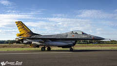 Belgian F-16AM Fighting Falcon (Caspar Smit) Tags: fa116 f16 aircraft fighter jet aviation airplane nikon d7000 kleinebrogel airshow tiger
