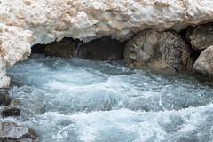 Tunnel de neige (RIch-ART In PIXELS) Tags: france hautespyrénées gèdre pyrénées water river snow ice glace neige landscape paysage fujifilmxt20 occitanie xt20 gavedegavarnieoudepau rapids