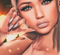◈№. 615 - photograph (αlιcα r. vαɴ нell) Tags: catwa maitreya leluck lw makeup artist alme sl secondlife portrait