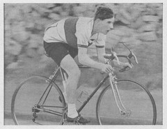 Billy Bilsland (Glasgow Wheelers) 1963. (Paris-Roubaix) Tags: billy bilsland glasgow wheelers junior bar champion 1964 peugeot tiraleigh vintage scottish bicycle racing