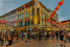 China Town Singapore (melvhsc100) Tags: streetphotography chinatown architecture nightscenery lightings lantern people streetperformance restaurant market singaporeattractions singaporenicescenery nikond810 tamron2470mm
