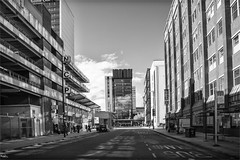 My city Manchester (Stu115) Tags: northern city centre bw