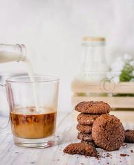Coffee and cookies (anu.girish) Tags: myinspirationsoflove food foodstyling canonfoodphotography naturallight coffee coffeelover cookies cookielover yummy homemade