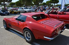 CHEVROLET Corvette C3 Stingray Coupé - 1969 (SASSAchris) Tags: chevrolet corvette coupé c3 2 tours dhorloge stingray castellet circuit ricard voiture américaine