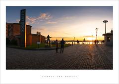 Across the Mersey (Parallax Corporation) Tags: liverpool albertdock panoramic eveningsunset rivermersey sonya7rii sonyfe1635f4 merseyside tateliverpool cobbledstreets billyfurystatue