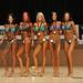 Bikini F 4th Olearczyk 2nd Spruit 1st Hrenyk 3rd Cull 5th Macrotte