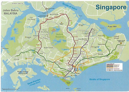 Singapore - Map of Singapore