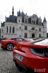 20181007 - Ferrari 458 - 812 Superfast - S(4182) - CARS AND COFFEE CENTRE - Chateau de Chenonceau (Lhermet Photographie) Tags: ferrari812 ferrari812superfast ferrari ferrari458 sel18105f4 sonya6000 chateaudechenonceau chenonceaux sony sonyilce6000
