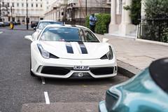458 (vapi photographie) Tags: london city center street car exotic sportscar ferrari 458 italia