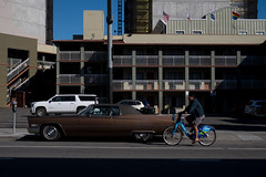 Fireworks gone (bhautik_joshi) Tags: streetphotography cycle bicyclelife bike classiccar candid shadows valenciastreet sf sanfrancisco california unitedstates us