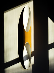 Lamp (samleer) Tags: europe frankfurt germany architecturalphotography autumn digitalnomad hotel lamp light lighting nomadlife orange portrait shadows abstract