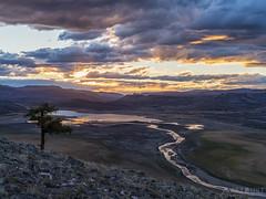 IMGP4658-HDR-Edit (Matt_Burt) Tags: bluemesareservoir bigmesa clouds lake reflection sunset