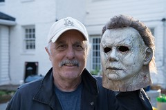 Nick Castle, the original Michael Myers, puts on his 'Halloween' mask once more (psbsve) Tags: portrait summer park people outdoor travel panorama sunrise art city town monument landscape mountains sunlight wildlife pets sunset field natural happy curious entertainment party festival dance woman pretty sport popular kid children baby female cute little girl adorable lovely beautiful nice innocent cool dress fashion playing model smiling fun funny family lifestyle posing few years niña mujer hermosa vestido modelo princesa foto guanare venezuela parque amanecer monumento paisaje fiesta