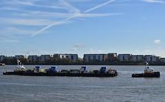 SWS Essex + SWS Breda + WF Pontoon (1) @ KGV Lock 18-10-18 (AJBC_1) Tags: london tug ©ajc dlrblog england unitedkingdom uk ship boat vessel northwoolwich eastlondon newham nikond3200 tugboat londonboroughofnewham royaldocks kgvlock kinggeorgevlock londonsroyaldocks docklands marineengineering swalshsonsltd swsbreda swsessex walsh blackfriarspier tflriver ajbc1 woolwichferrydockingpontoon ravesteinbv kgvdock riverthames gallionsreach kinggeorgevdock nikond5300 woolwichferryberthingpontoon intelligentdocklockingsystem idl automatedmagneticmooringsystem mampaeyoffshoreindustries