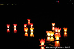 Lantern Floating Ceremony - to worship the guardian of water - Inle Lake Myanmar (WanderingPJB) Tags: myanmar burma inlelake flickruploaded flickralbum lanternfloatingceremony guardianofwater worship smileonsaturday curiouscandles