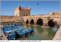 Le bassin aux barques et la Scala du port (MarcEnGalerie) Tags: vacances voyage barque morocco maroc essaouira mar