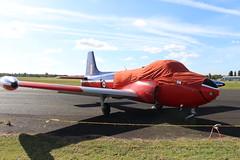IMG_9647 (routemaster2217) Tags: northweald aviation aeroplane aircraft jetaircraft fighterjet trainingaircraft jettrainer huntingpercivalaircraft bacjetprovostt3 britishaircraftcorporation jetprovostmk3 rollsroyceviper royalairforce raf gbkou2ltd xn637 gbkou