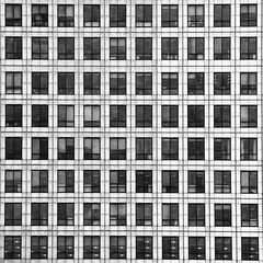 Eighty windows (Joseph Pearson Images) Tags: architecture abstract london canarywharf square window windows blackandwhite mono bw building