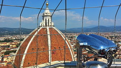 On the top viewing (gerard eder) Tags: world travel reise viajes europa europe italy italia italien tuscany toscana toskana firenze florence florenz florencia cathedral catedral duomo dom kathedrale tower torre turm paisajes panorama city ciudades cityscape cityview urban urbanlife urbanview roofs cupola kuppel