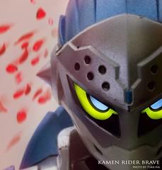 Brave's masker (Toàn Mai) Tags: toyphotography tamashination toy shfiguart rider nikon japan kamenrider exaid brave snipe
