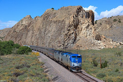 The Southwest Chief at the Devil's Throne (bkays1381) Tags: southwestchief amtrak amtrak4 newmexico