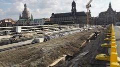 Baustelle Augustusbrücke (20.09.2018) (Thomas230660) Tags: sanierung augustusbrückedresden bauwerke architektur baustelle dresden