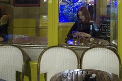 . (Le Cercle Rouge) Tags: paris france montmartre 75018 loneliness solitude woman café