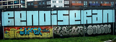 Trackside graffiti (wojofoto) Tags: graffiti streetart railway spoor spoorweg trackside nederland netherland holland wojofoto wolfgangjosten benoi benoit seran lboys sales liker