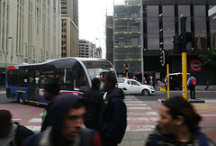 Adderley Street (Cosmic Oxter) Tags: streetphotography capetown movement direction blur traffic people